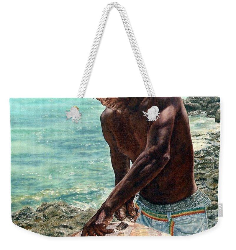 Eleuthera Art Weekender Tote Bags