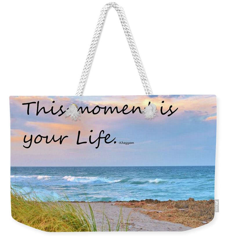 Be Happy Weekender Tote Bag featuring the photograph Be Happy by Lisa Renee Ludlum