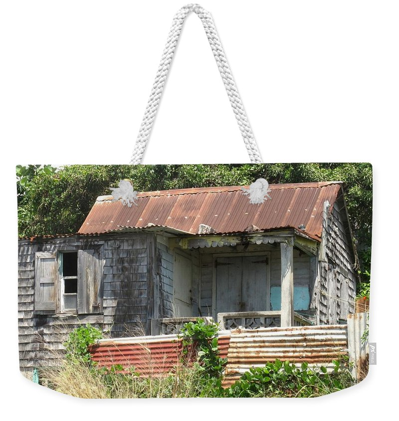 House Weekender Tote Bag featuring the photograph Be It Ever So Humble by Ian MacDonald