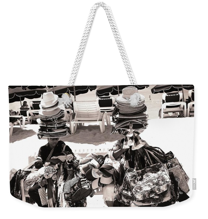 Shopping Weekender Tote Bag featuring the photograph Beach Bunnies by David Coleman