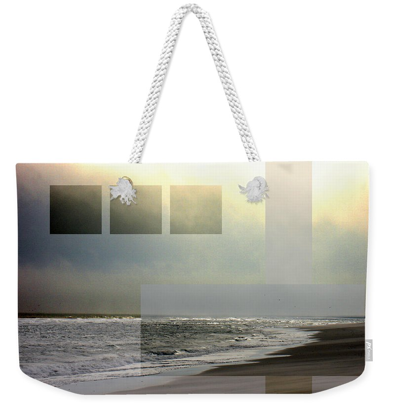 Beach Weekender Tote Bag featuring the photograph Beach Collage 2 by Steve Karol