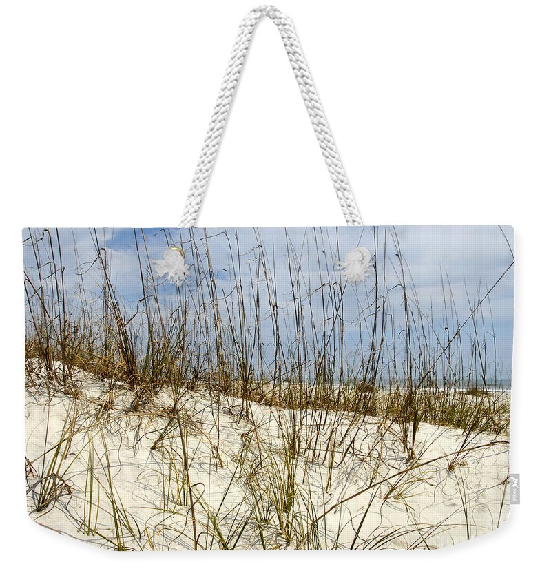 Beach Weekender Tote Bag featuring the photograph Beach Dunes by David Lee Thompson