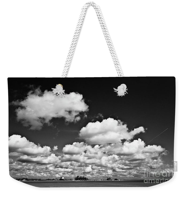 Heiko Weekender Tote Bag featuring the photograph Beach Far And Wide by Heiko Koehrer-Wagner