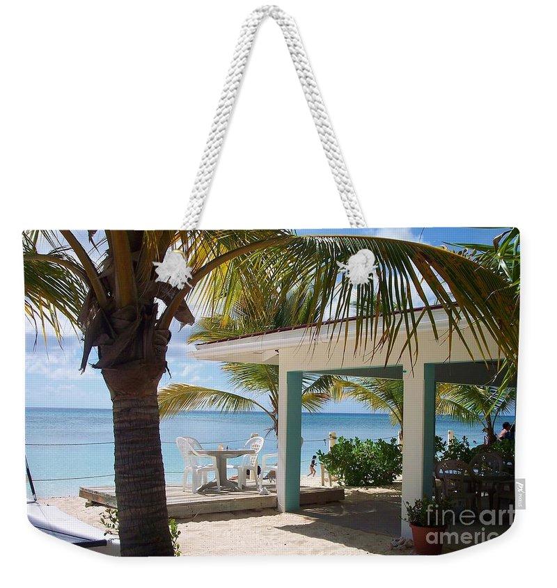 Beach Weekender Tote Bag featuring the photograph Beach in Grand Turk by Debbi Granruth