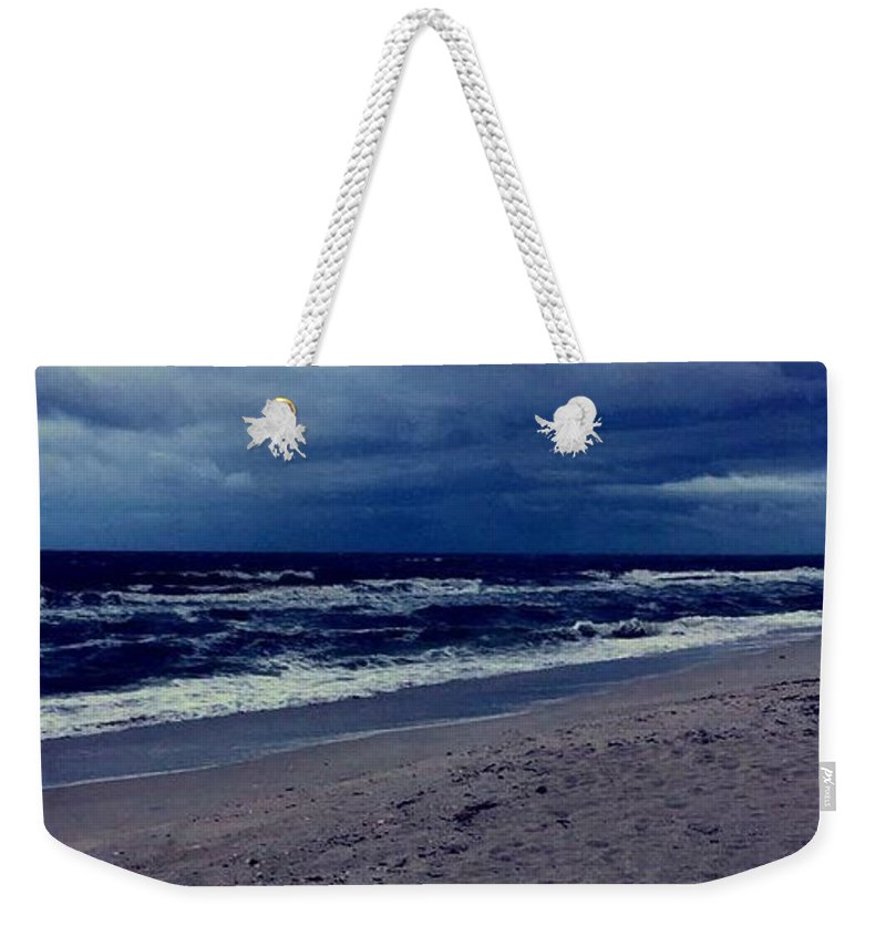 Weekender Tote Bag featuring the photograph Beach by Kristina Lebron