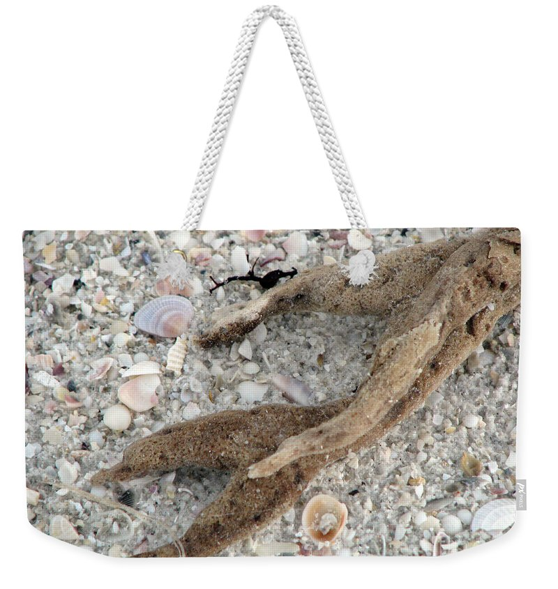Sand Weekender Tote Bag featuring the photograph Beach Scape by Amanda Barcon