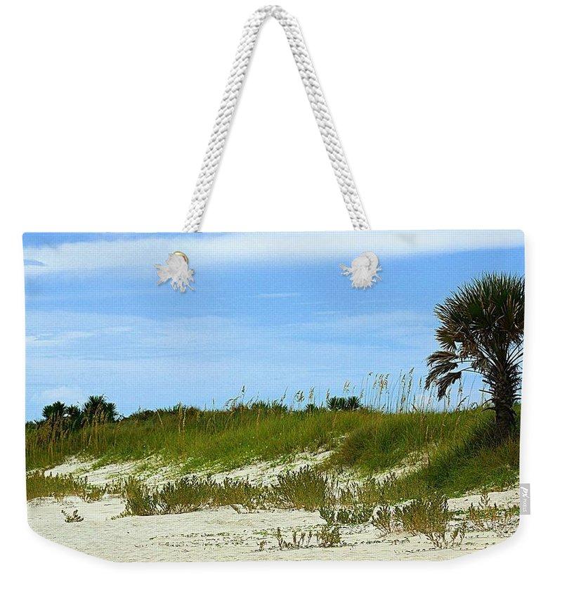 Beach Weekender Tote Bag featuring the photograph Beach Solitude by Paul Wilford