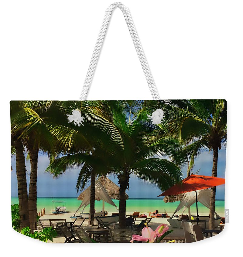Beach Weekender Tote Bag featuring the photograph Beach Vacation by James Burton