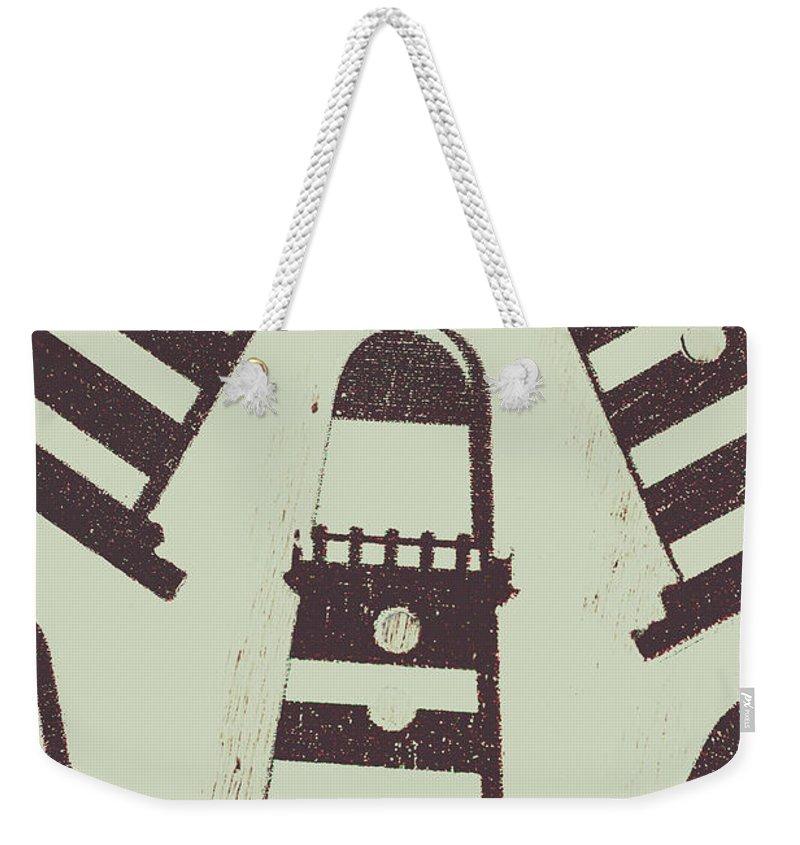 Navigation Weekender Tote Bags