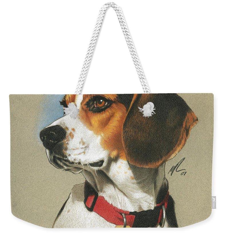 Beagle Weekender Tote Bags