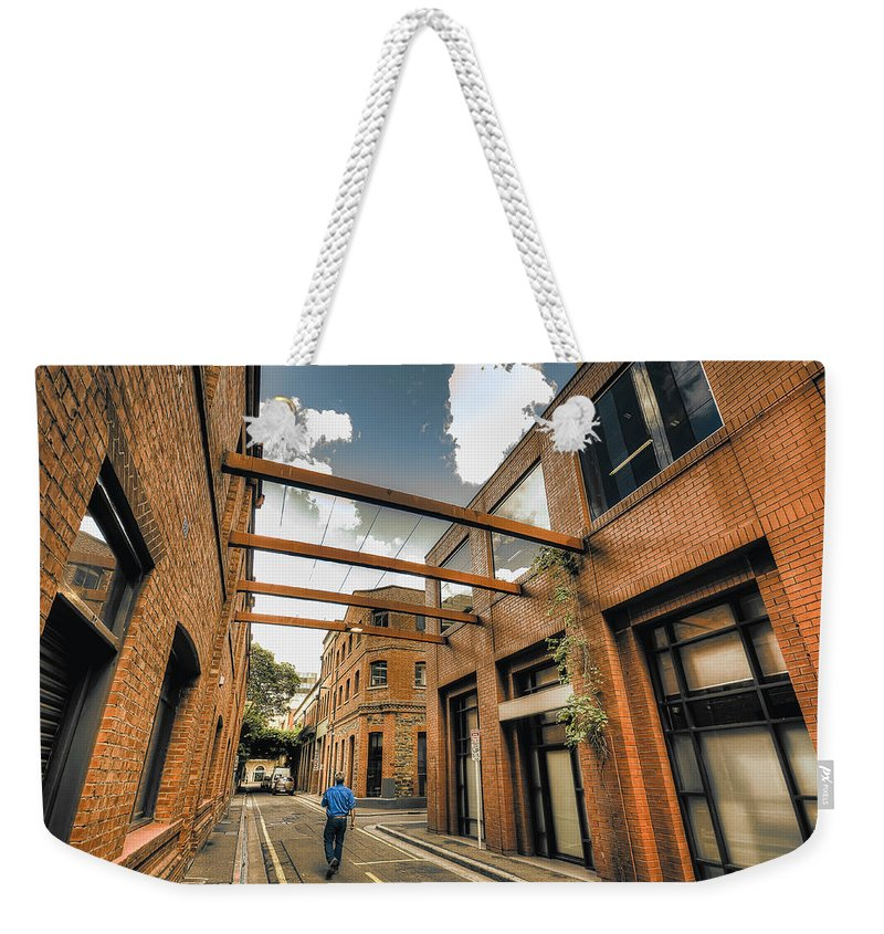 Beam Me Up Scotty Weekender Tote Bag featuring the photograph Beam Me Up Scotty by Wayne Sherriff