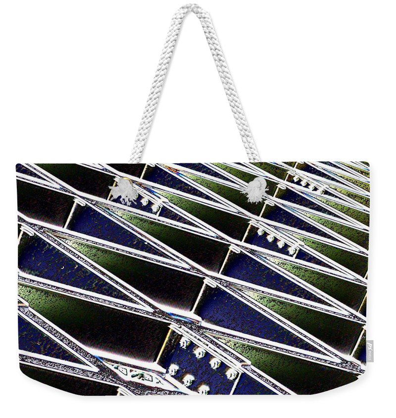 Beams Weekender Tote Bag featuring the photograph Beaming by Tim Allen