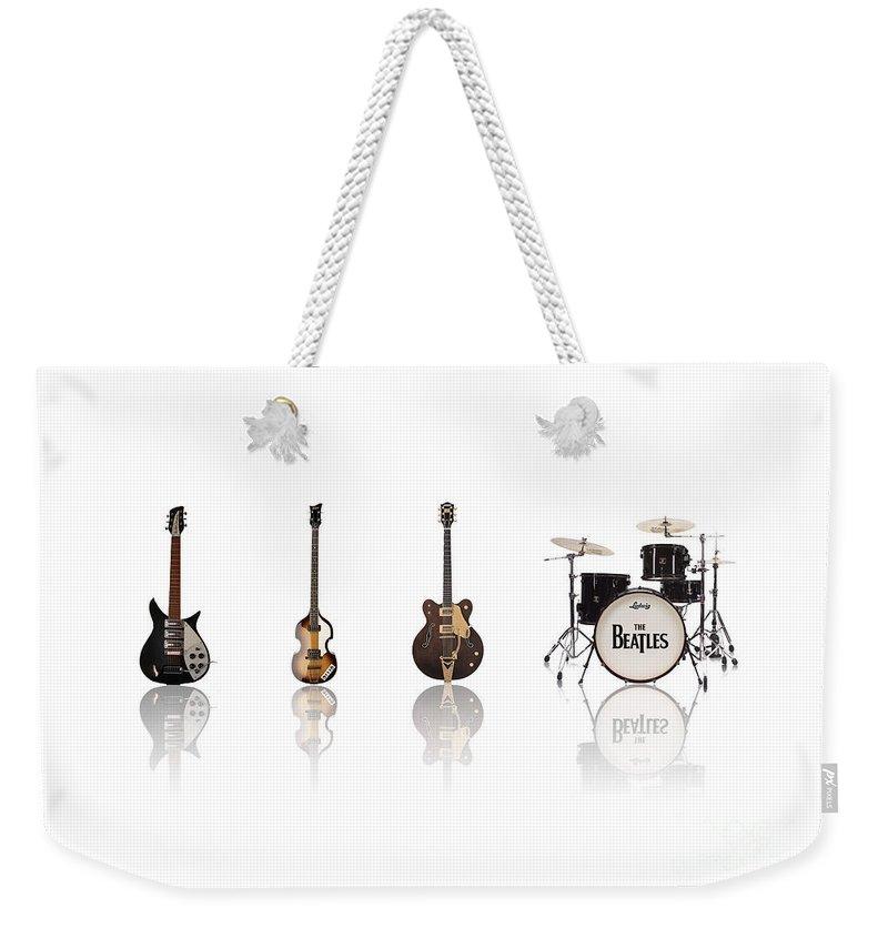 Paul Mccartney Beatles Weekender Tote Bags