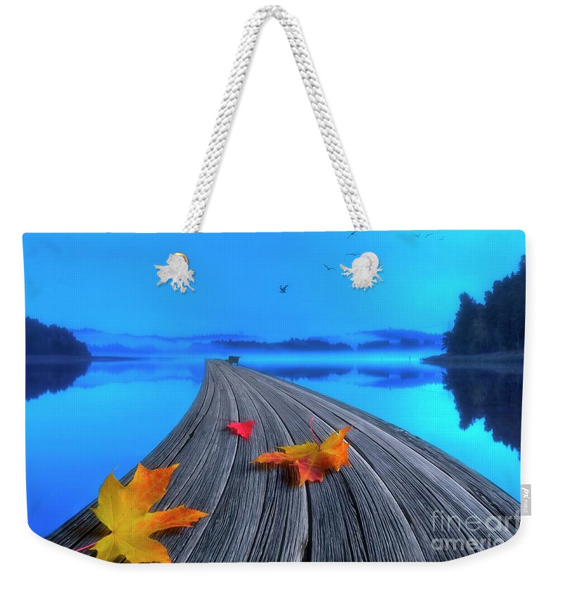 Artist Weekender Tote Bag featuring the photograph Beautiful Autumn Morning by Veikko Suikkanen