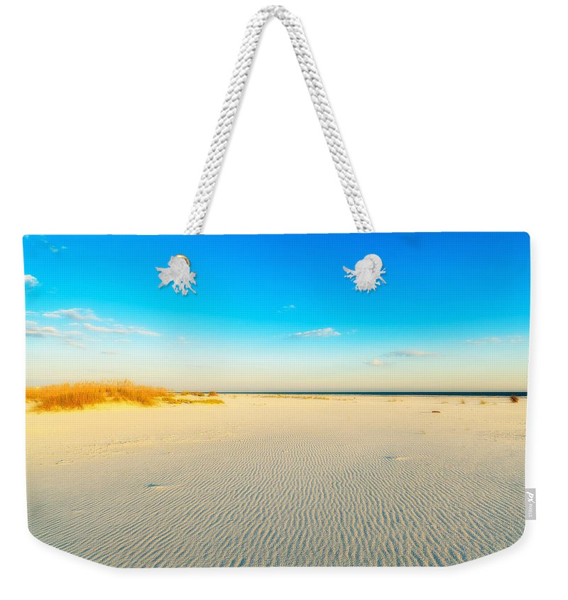 Florida Weekender Tote Bag featuring the photograph Beautiful Beach by Raul Rodriguez