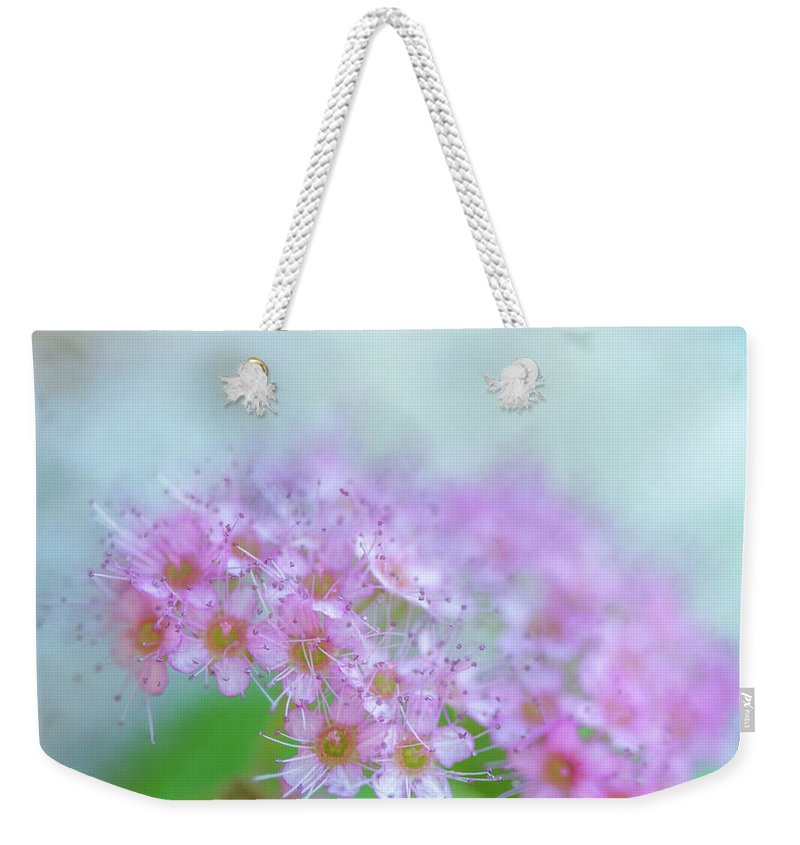 Flowers Weekender Tote Bag featuring the digital art Beautiful Bouquet by Terry Davis