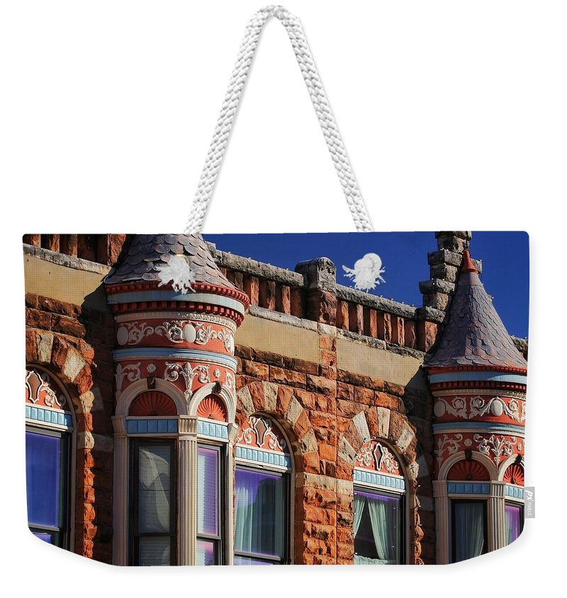 Guthrie Weekender Tote Bag featuring the photograph Beautiful Building Details by Buck Buchanan