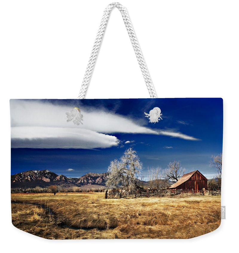 Colorado Weekender Tote Bag featuring the photograph Beautiful Colorado by Marilyn Hunt