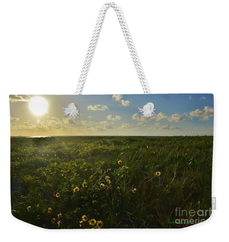 Beautiful Day Weekender Tote Bag featuring the photograph Beautiful Day by Lisa Renee Ludlum