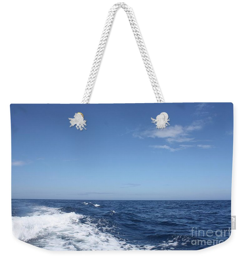 Beautiful Day On The Atlantic Ocean Weekender Tote Bag featuring the photograph Beautiful Day On The Atlantic Ocean by John Telfer