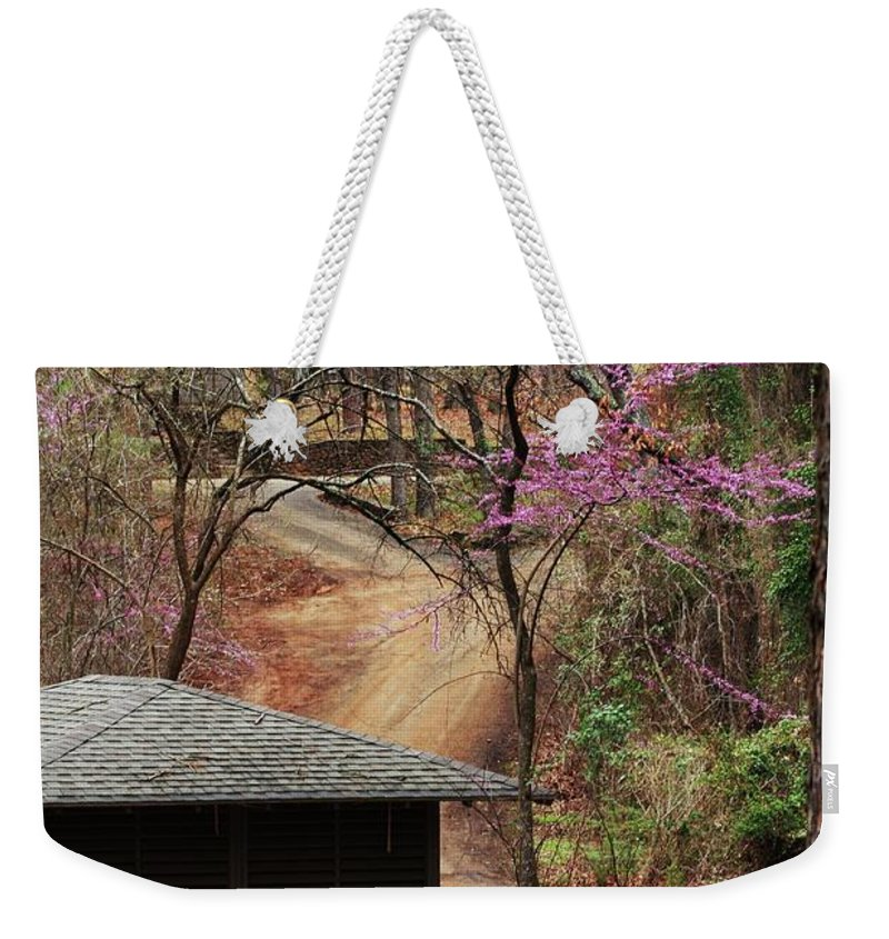 Nature Photograph Weekender Tote Bag featuring the photograph Beautiful Escape by Kim Henderson
