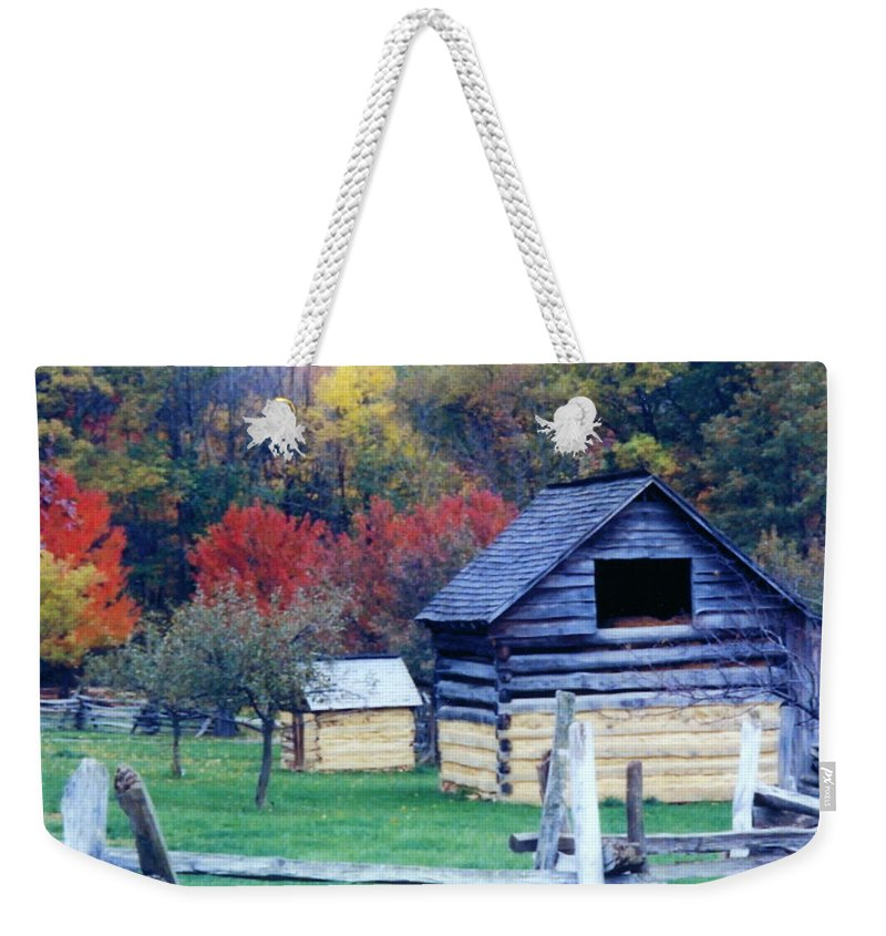 Fall Beauty Photograph Weekender Tote Bag featuring the photograph Beautiful Fall by Penny Neimiller