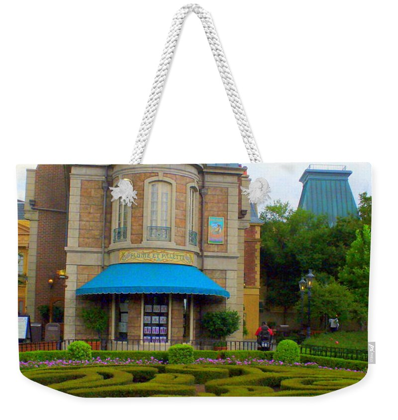 Garden Landscape Weekender Tote Bag featuring the photograph Beautiful Garden At France Pavilion by Lingfai Leung