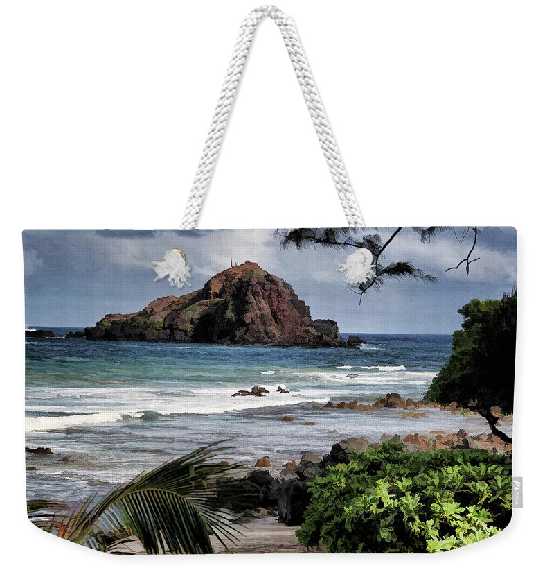 Water Weekender Tote Bag featuring the photograph Beautiful Hawaii by Melvin Busch