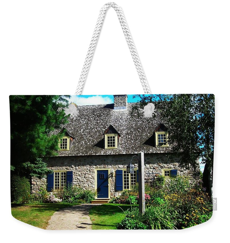 North America Weekender Tote Bag featuring the photograph Beautiful Home ... by Juergen Weiss