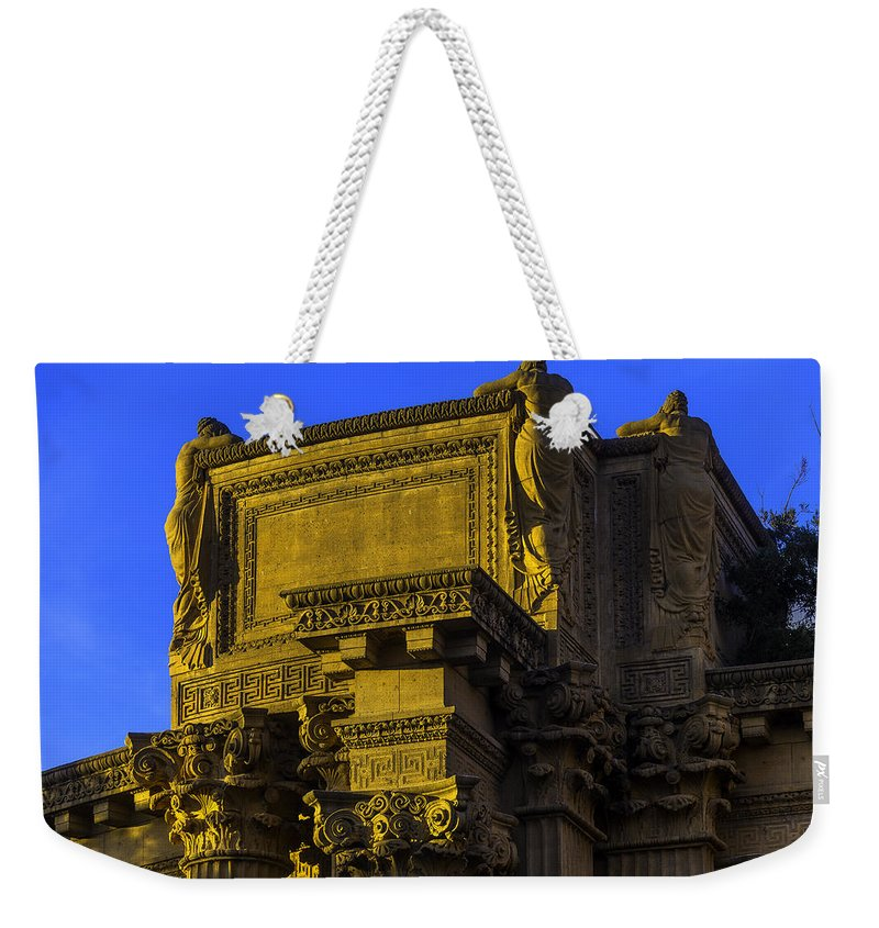 Palace Of Fine Arts Weekender Tote Bag featuring the photograph Beautiful Palace Of Fine Arts by Garry Gay