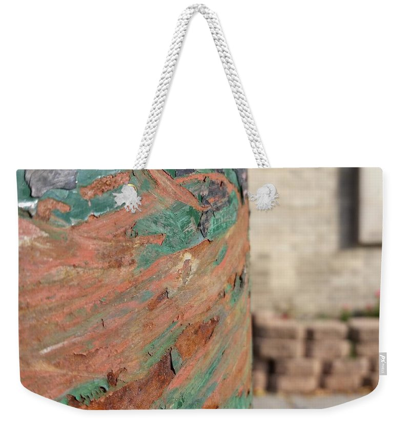 Weekender Tote Bag featuring the photograph Beautiful Scars by Zac AlleyWalker Lowing
