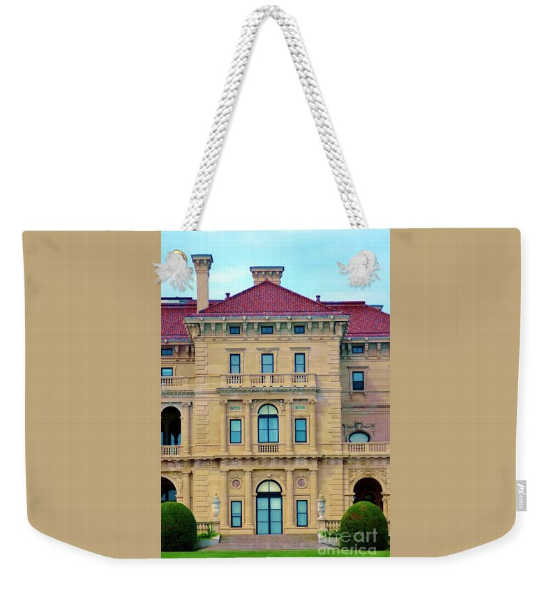 House Weekender Tote Bag featuring the photograph Beautiful Villa by Kathleen Struckle