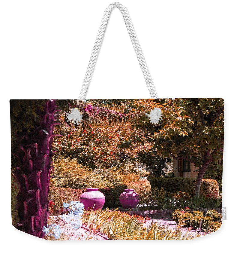 Beauty All Around Weekender Tote Bag featuring the photograph Beauty All Around by Mini Arora
