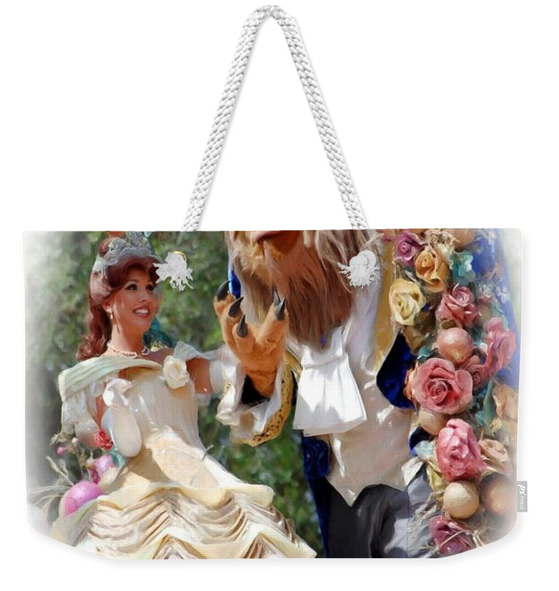 Beauty & The Beast Weekender Tote Bag featuring the photograph Beauty And The Beast II by Robert Meanor