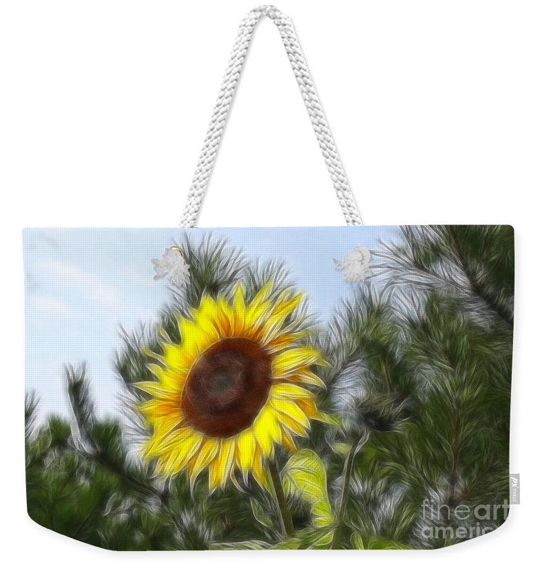 Fratalius Weekender Tote Bag featuring the photograph Beauty In The Pines by Deborah Benoit
