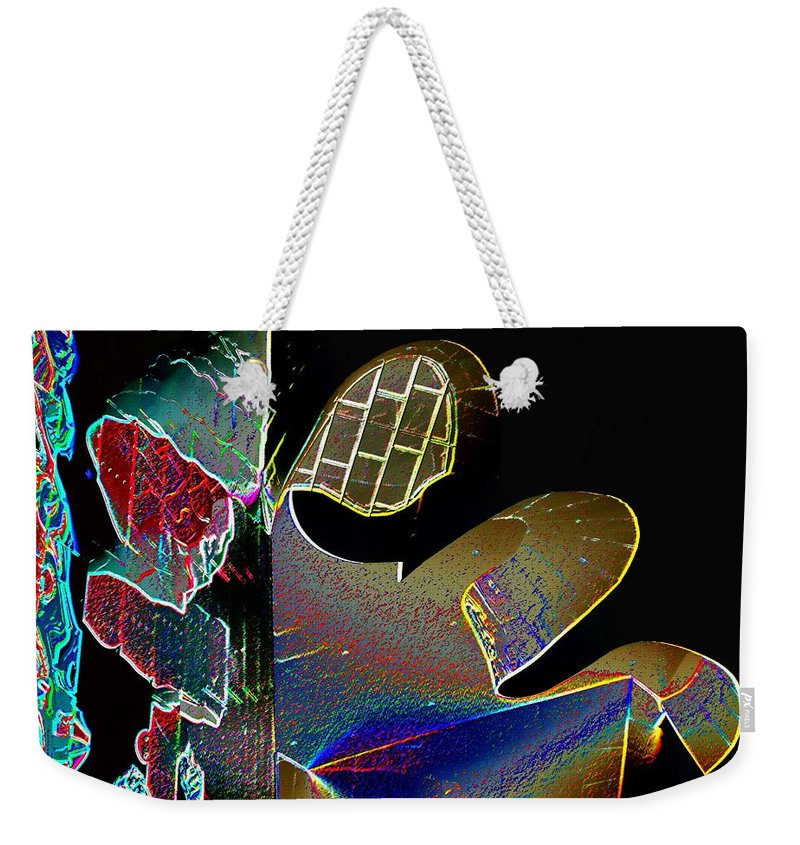Music Weekender Tote Bag featuring the photograph Beauty Of Music by Tim Allen