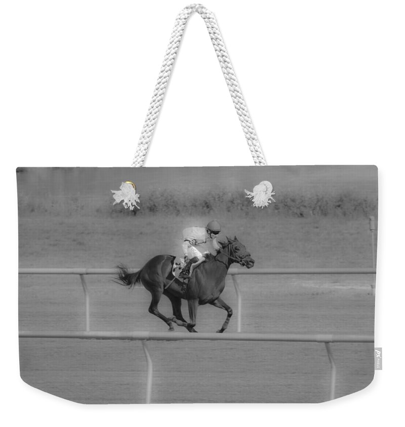 Post Weekender Tote Bag featuring the photograph Because I Want To by Betsy Knapp