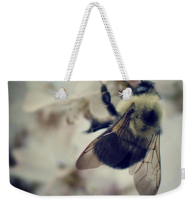 Natures Bees Weekender Tote Bags