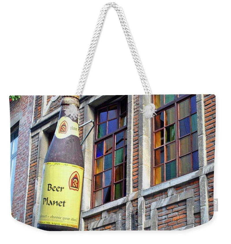 Beer Weekender Tote Bag featuring the photograph Beer Planet by Jost Houk