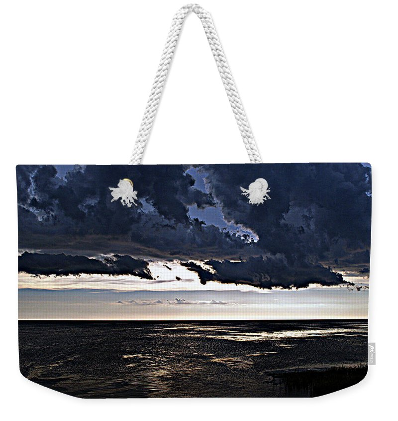 Storm Weekender Tote Bag featuring the photograph Before The Storm 1 by Bob Johnson