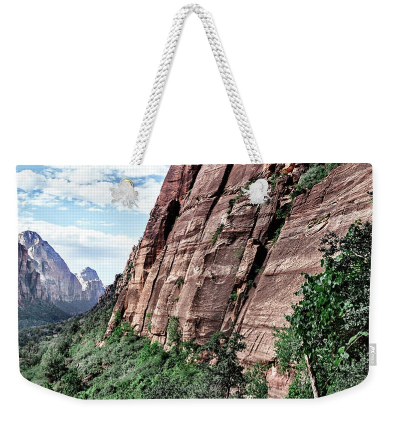Evgeniya Lystsova Weekender Tote Bag featuring the photograph Beginning Of Adventure by Evgeniya Lystsova