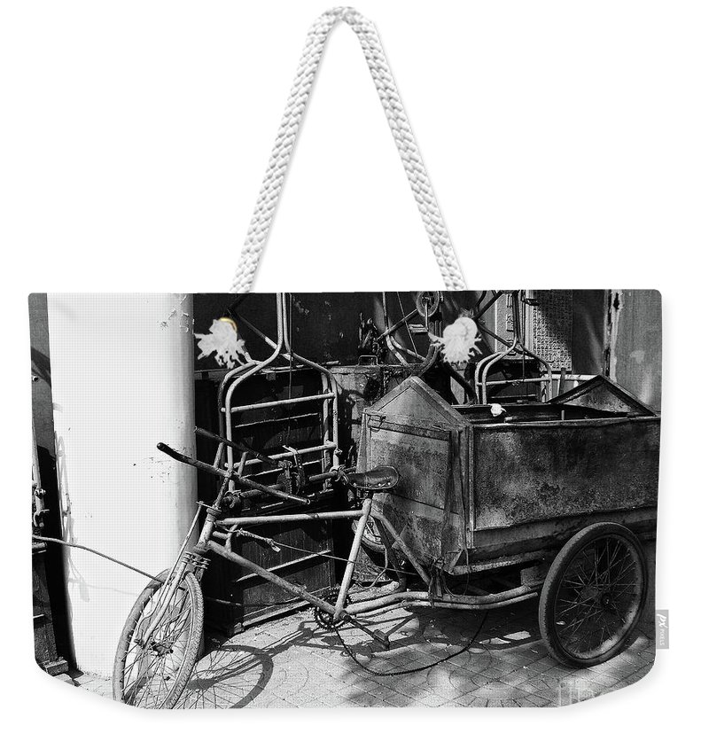 Beijing Weekender Tote Bag featuring the photograph Beijing City 18 by Xueling Zou