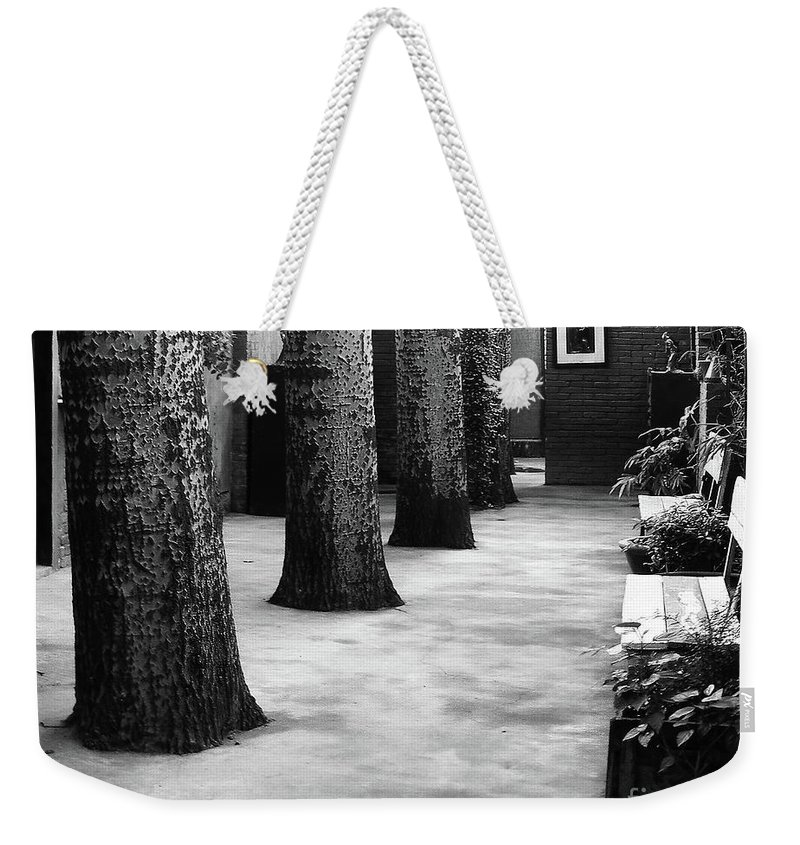 Beijing Weekender Tote Bag featuring the photograph Beijing City 19 by Xueling Zou