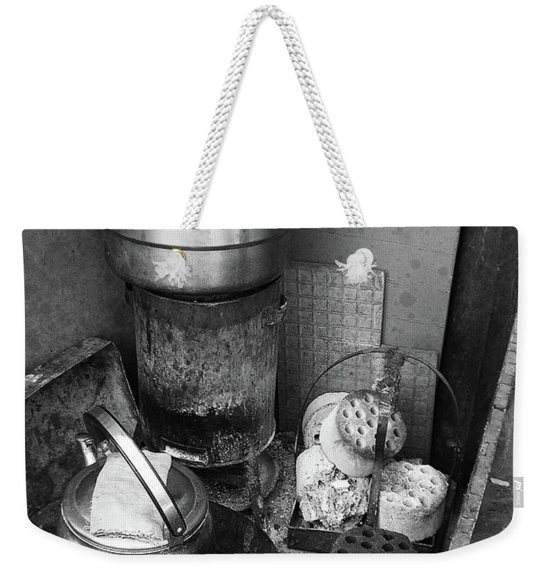 Beijing Weekender Tote Bag featuring the photograph Beijing City 21 by Xueling Zou