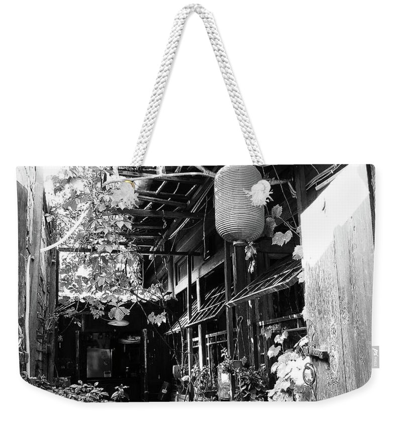 Beijing Weekender Tote Bag featuring the photograph Beijing City 22 by Xueling Zou