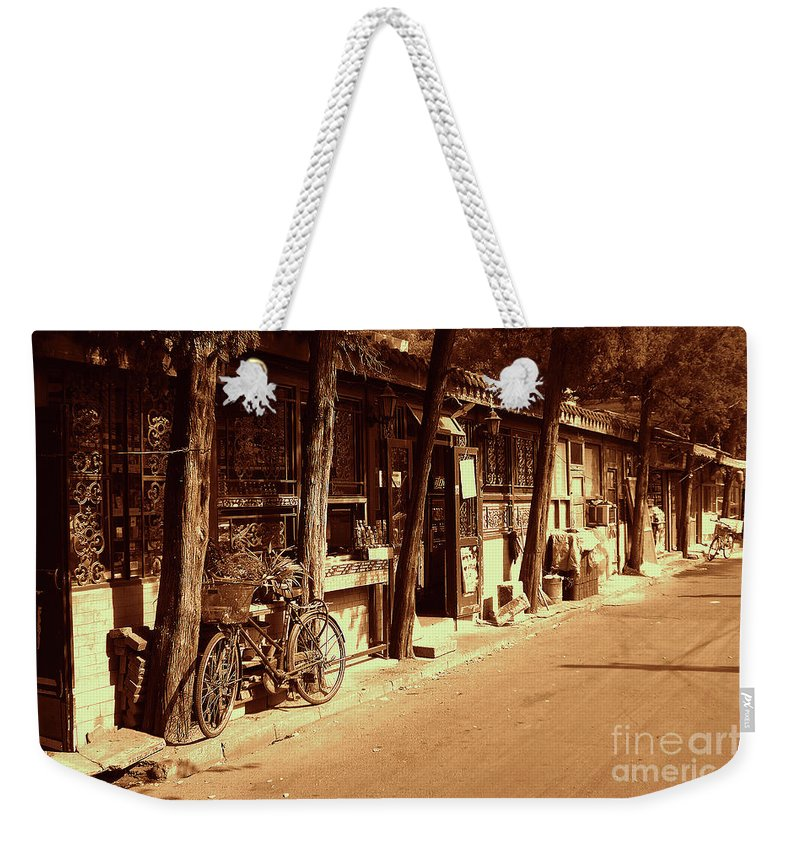 Occupy Beijing Weekender Tote Bag featuring the photograph Beijing City 8 by Xueling Zou