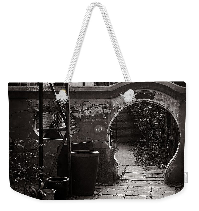 Beijing Weekender Tote Bag featuring the photograph Beijing City 9 by Xueling Zou