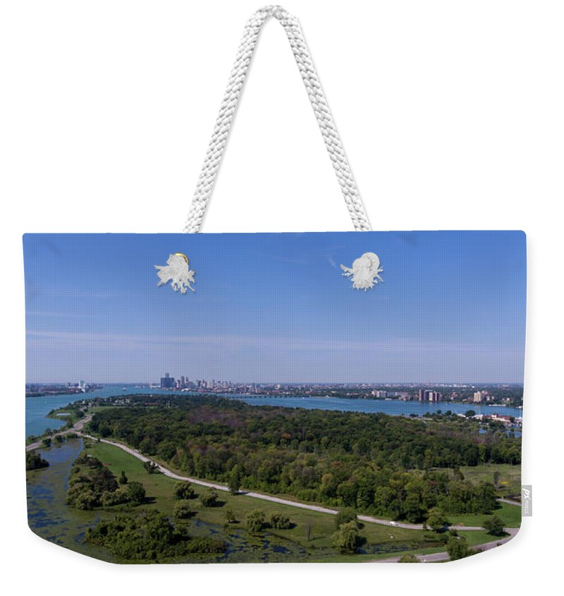 Gales Of November Weekender Tote Bag featuring the photograph Belle Isle by Gales Of November