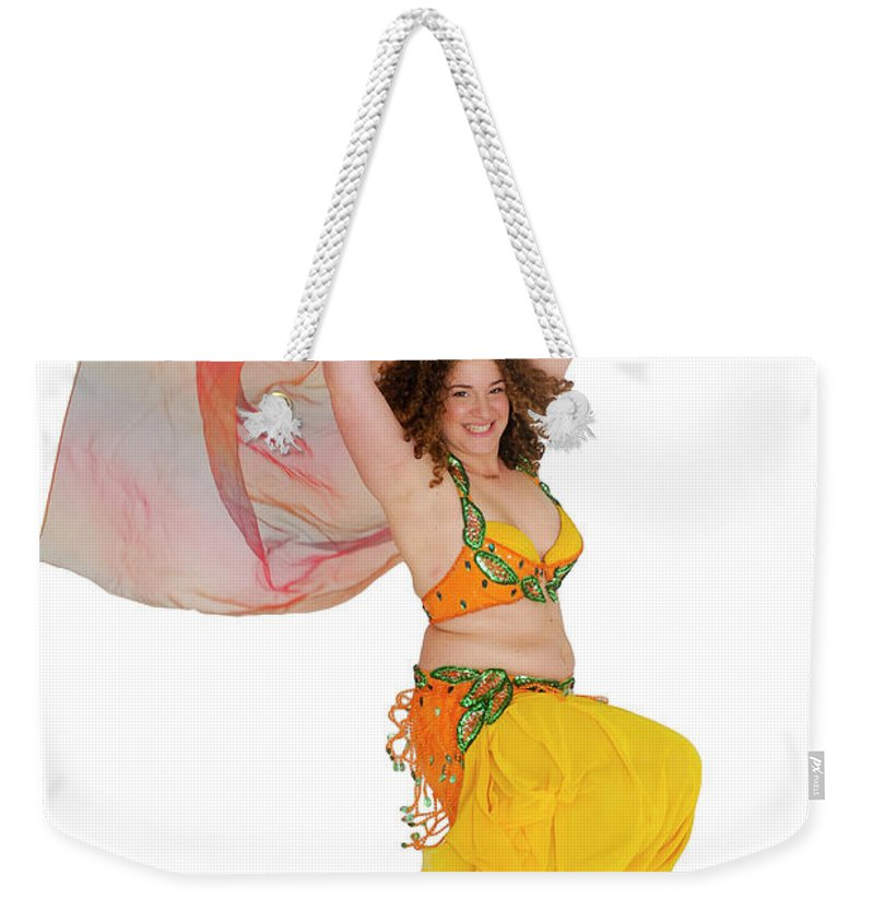 Art Weekender Tote Bag featuring the photograph Belly Dancer by Ilan Rosen