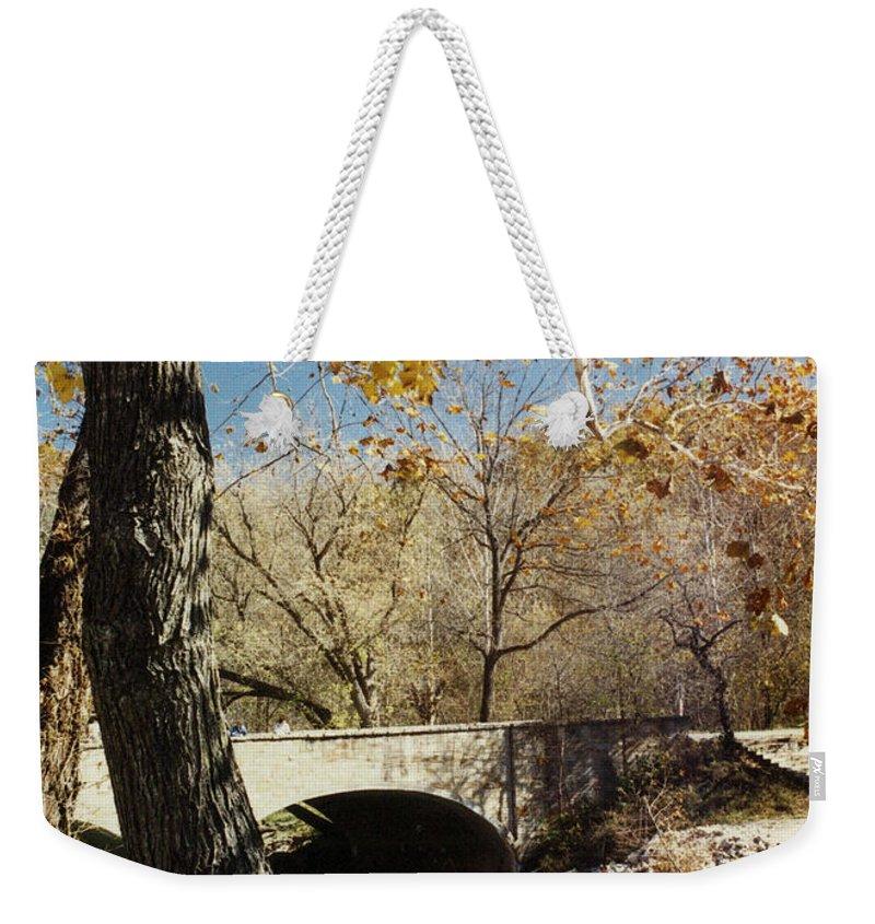 Landscape Weekender Tote Bag featuring the photograph Bennet Springs by Steve Karol